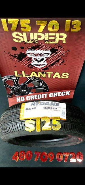 BRAND NEW SET OF TIRES 175 70 13 for Sale in Phoenix, AZ