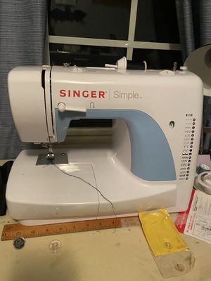 Singer Simple Sewing Machine for Sale in Durham, NC