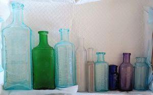 1800's Antique Medicine Bottles for Sale in Ruskin, FL