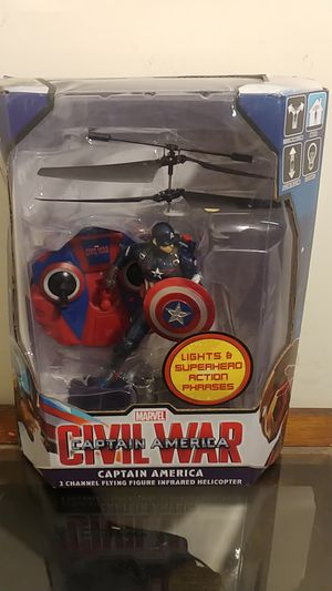 Captain America flying helicopter for Sale in Marietta, GA