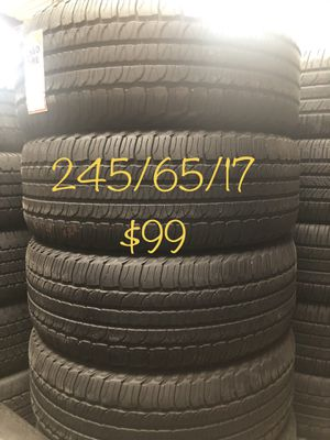 Used tire set for Sale in Houston, TX
