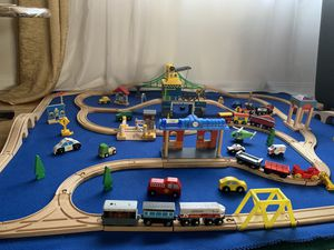 Thomas and friends wooden railways and extras. for Sale in Seattle, WA