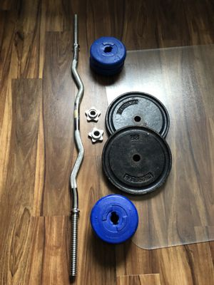 Barbell and weights for Sale in Seattle, WA