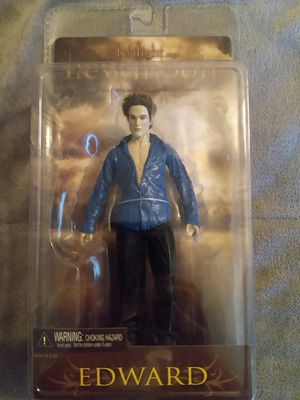 """COLLECTIBLE 2009 REEL TOYS NECA THE TWILIGHT NEW MOON EDWARD CULLEN 7"""" ACTION FIGURE for Sale in El Mirage, AZ"""