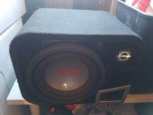 "10"" Alpine Type-R Subwoofer and Amplifier for Sale in Fircrest, WA"