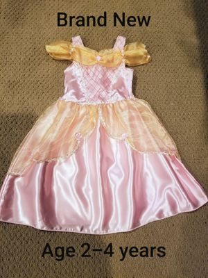 Halloween Age 2-4 years old Brand new with tags Princess costume for Sale in Renton, WA