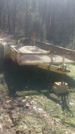 Heavy duty utility trailer with title for Sale in Salisbury, NC
