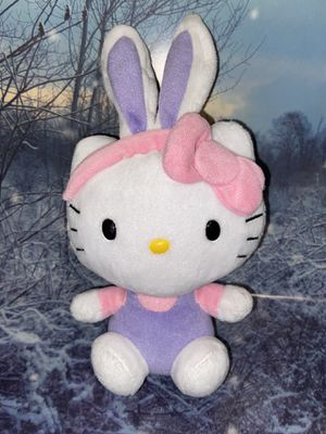 "Purple bunny Hello Kitty Plush approximately 9"" for Sale in Lakewood, CA"