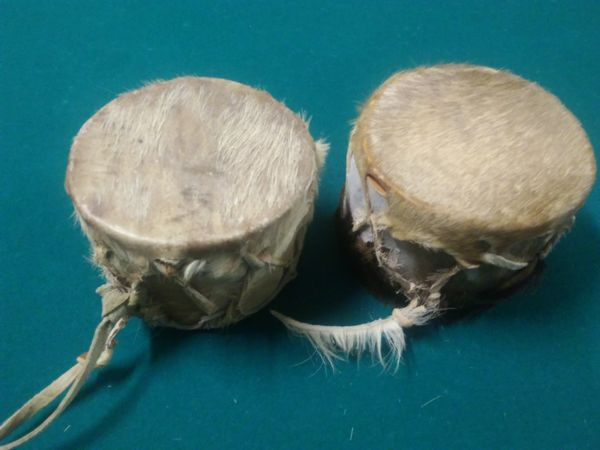 Antique African Tribal Drums