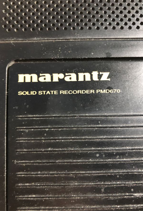 Marantz Recorder