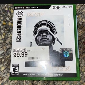Mvp Edition Madden for Sale in Des Moines, WA