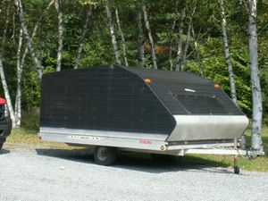 Covered Trailer 8.5' X 11.5' for Sale in West Milford, NJ