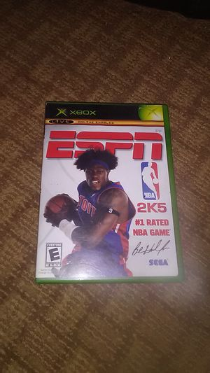 NBA 2k 5 (original Xbox) for Sale in Apache Junction, AZ