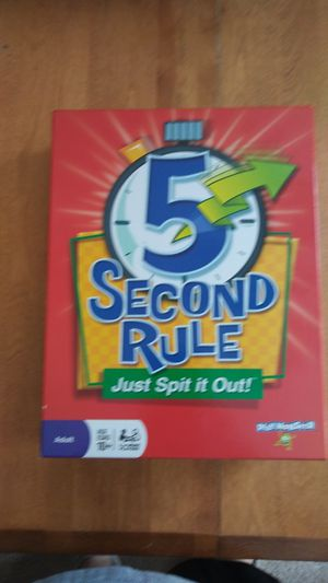 5 second rule Kids board game for Sale in Charlotte, NC