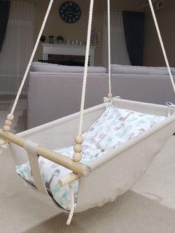 Baby linen swing-hammock for Sale in Jefferson,  GA