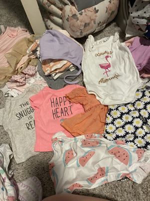 Free Baby Girl Clothes NB-3 Months for Sale in Apache Junction, AZ