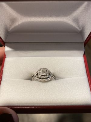 Vintage Style Engagement Ring and Wedding Band for Sale in Glendale, AZ