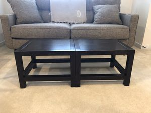Coffee table (or end tables when separated) for Sale in Richmond, VA