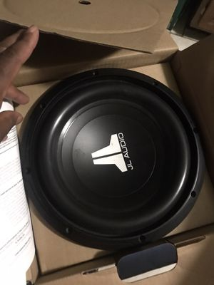 "JL Audio 10"" subwoofers for Sale in St. Louis, MO"