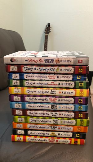 Diary of a wimpy kid collection for Sale in Tampa, FL