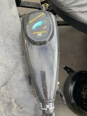Trolling motor Minn Kota 50 lbs thrust for Sale in Martinez, CA