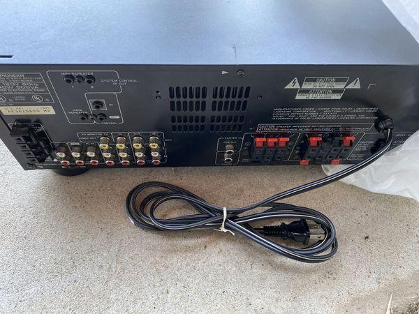 Pioneer VSX powered amp/receiver