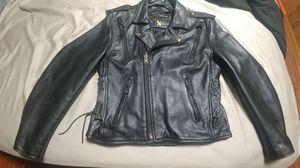 Leather riding jacket for Sale in Mary Esther, FL