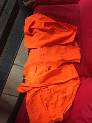 2 Red man hunting vest for Sale in Glenwood, GA