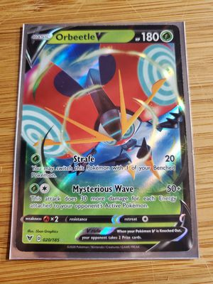 Orbeetle Pokemon Vivid voltage for Sale in Placentia, CA