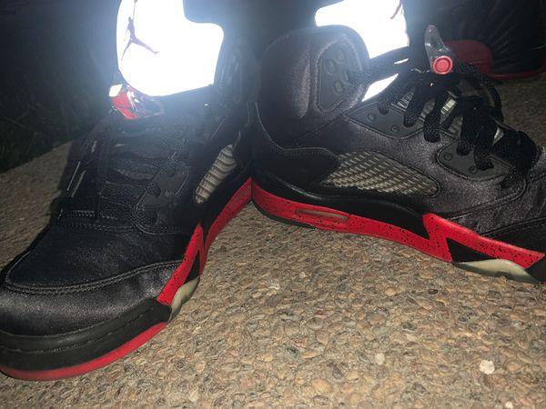 Jordan retro 5 satin bred