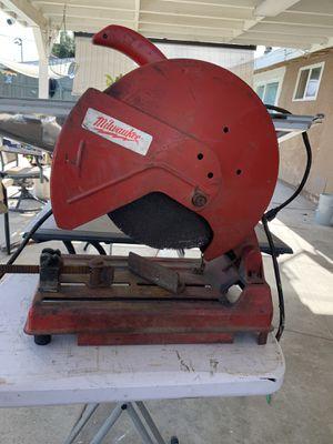 Miluwaukee 14' Abrasive Cut-Off Machine for Sale in Riverside, CA