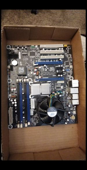 Intel Duo e8400 + MOBO for Sale in Tempe, AZ