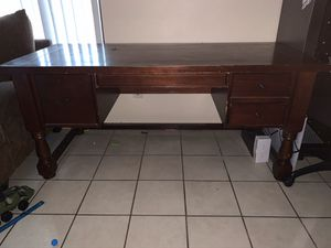 Wood Desk for Sale in San Bernardino, CA