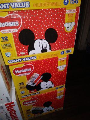 HuGGies size 4 $ 40 por caja oh cambio por formula Enfamil 12 0z for Sale in Los Angeles, CA