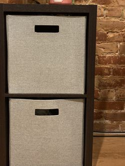 Two Bin Cubby Organizer (bins included) for Sale in Brooklyn,  NY
