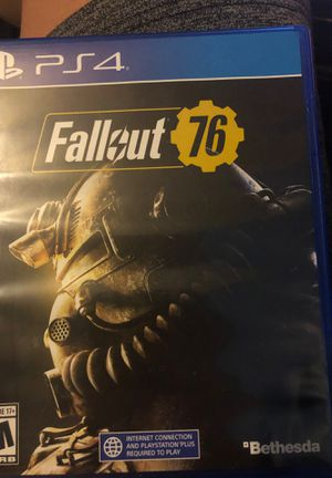 Fallout 76- Ps4 for Sale in Phoenix, AZ