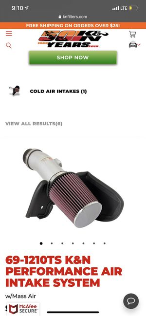 Cold intake for Sale in San Jose, CA