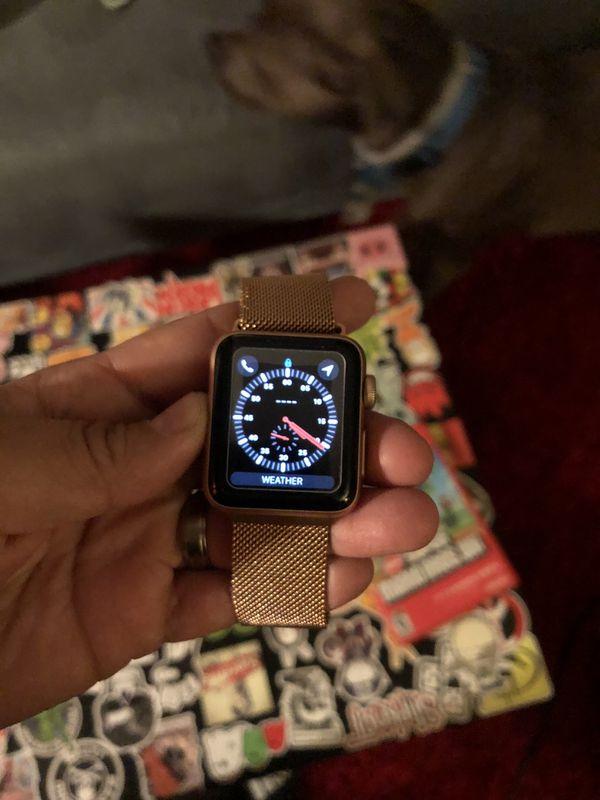 Apple Watch series 3 38mm GPS+ cellular $180