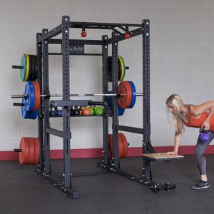 Fully loaded Body-Solid Power Rack: full cage with extended back for Sale in Elk Grove, CA