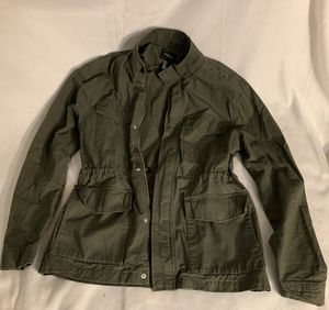 Army green jacket size Large Forever 21 for Sale in Tacoma, WA