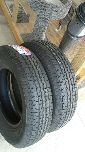 4 new trailer tires....205/75/14...8 ply..load C for Sale in Palmdale, CA