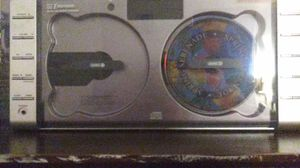 Radio and dubble cd player in one with speker to go with it for Sale in Dearborn Heights, MI