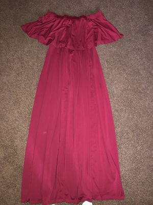 Burgundy dress from amazon for Sale in Perris, CA