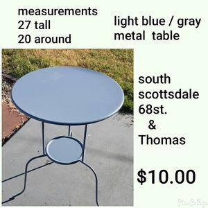 MetalTable for Sale in Scottsdale, AZ