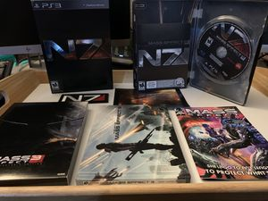 Mass Effect 3 N7 Collector's Edition (PS3) Complete In Box MINT CONDITION DISCS for Sale in Santee, CA
