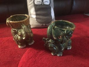Elephant for bamboo plants for Sale in Annandale, VA