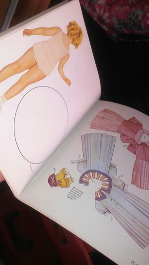 Shirley Temple classic paper doll book for Sale in Whittier, CA
