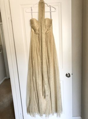 Jenny Yoo - Anabelle Dress 'Gold' Size 2 for Sale in South El Monte, CA