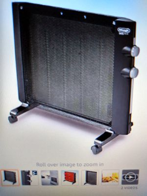 De'longhi Thermic 1500w Panel Heater for Sale in Upland, CA