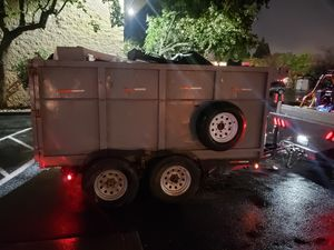 2013 Dump trailer 10ft 12k pounds for Sale in Vacaville, CA